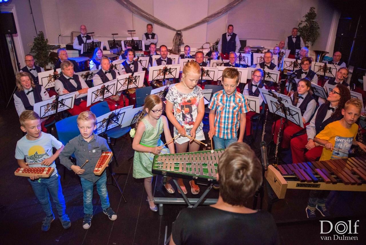 * ZOMERCONCERT KTSM TIEL *    gevarieerd concert met veel aandacht voor jonge aankomende muzikanten.
