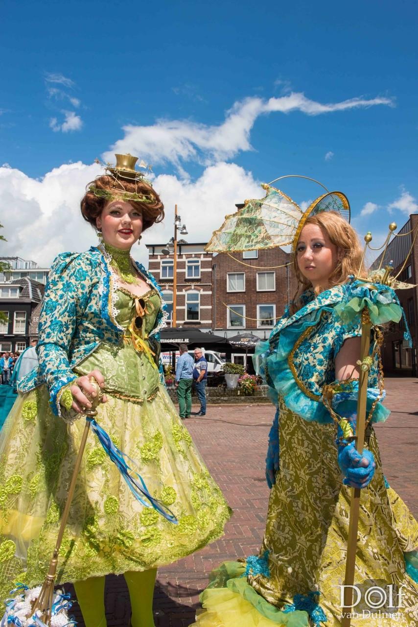 * TIEL TOONT * Allerlei activiteiten in de Tielse binnenstad opgesierd met kleurrijke figuratie!