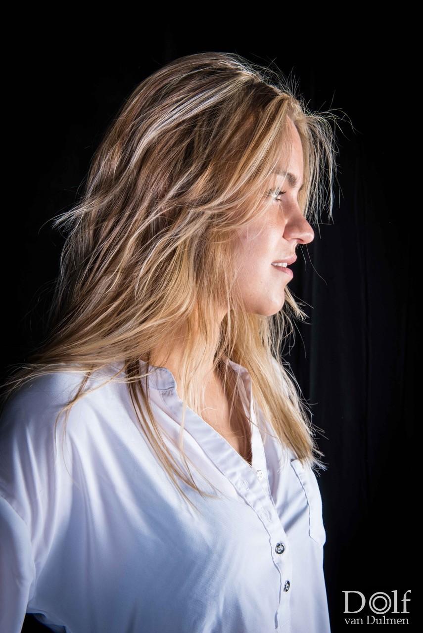 * MAUD * portret shoot met Maud, hele mooie shoot met alle aandacht voor de belichting!