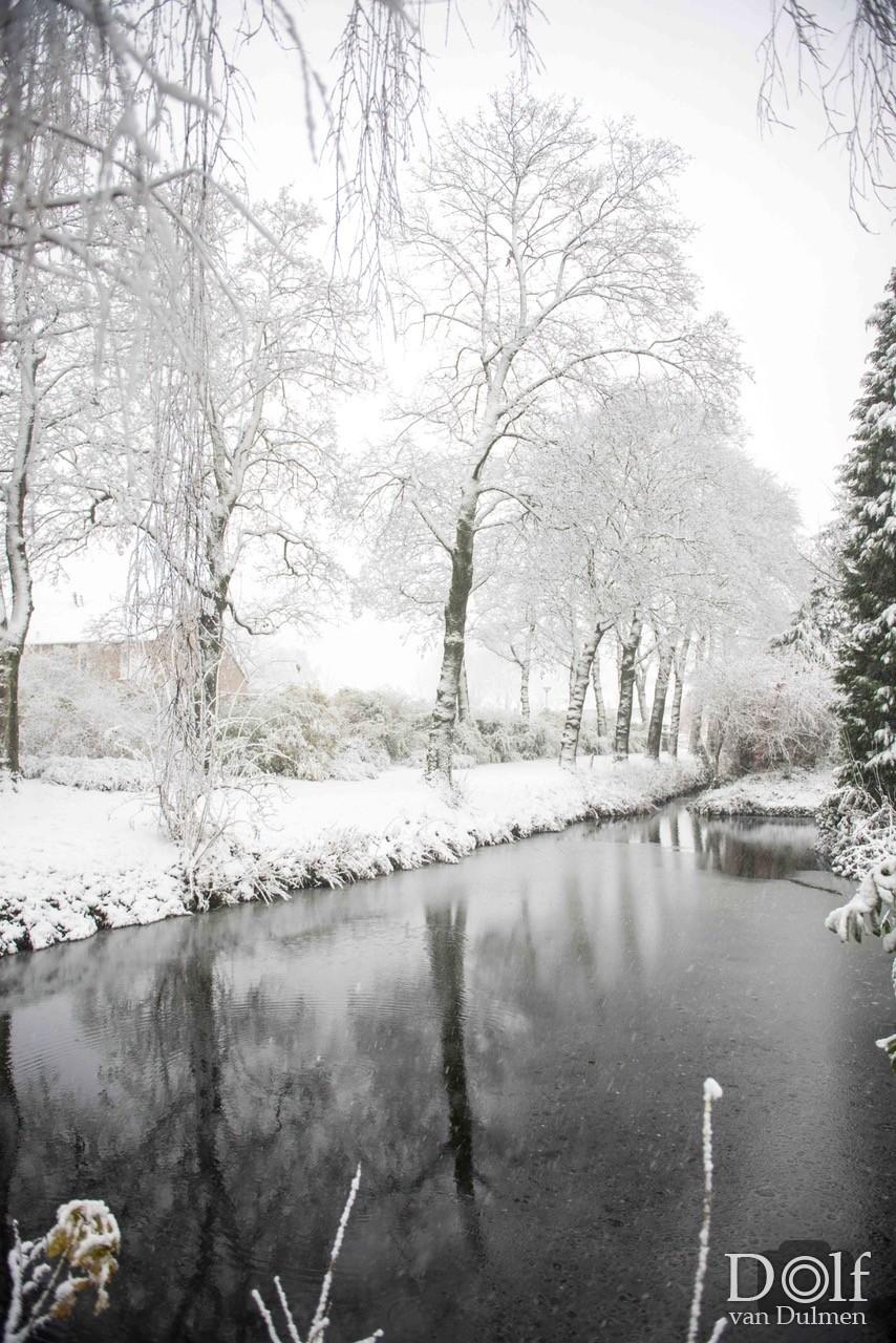 * WINTER IN TIEL * Heerlijke sfeerplaatjes op een winterse zondag middag!
