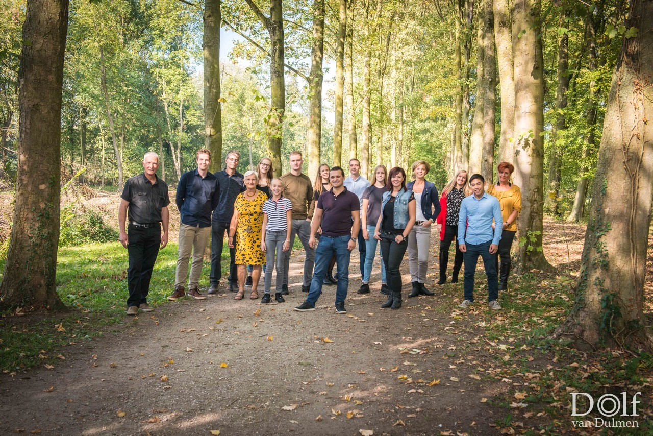 * Family *     Het Zoelensche bos, prachtig weer en 2 gezellige families!