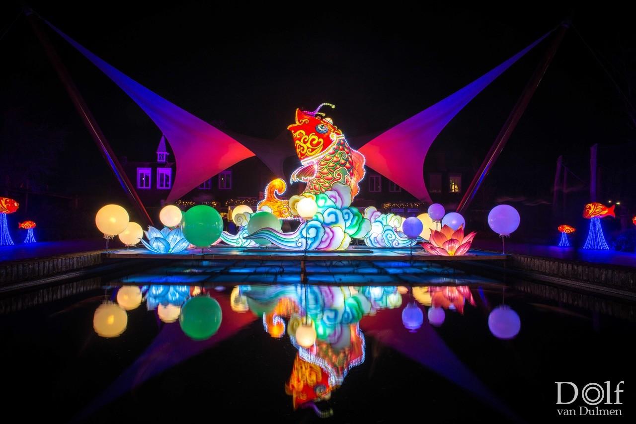 * CHINA LIGHT FESTIVAL 2019 * Wederom een prachtig lichtspektakel in Ouwehands dierenpark!