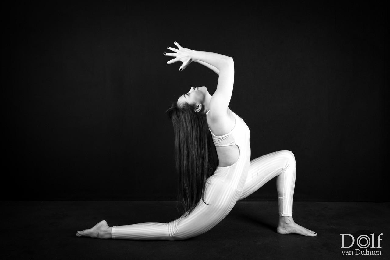 * Yoga, Zwart/wit, studio, eenvoud * fantastische shoot met Allini!